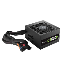Corsair CS Series CS650M Modular 650Watt 80+ Gold (CP-9020077-EU)