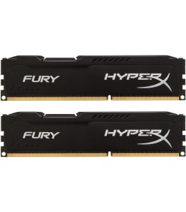 Kingston HyperX FURY Black Series 8GB (2x 4GB) DDR3 1600MHz (HX316C10FBK2/8)