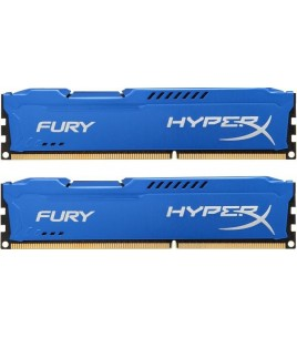 Kingston HyperX FURY Blue Series 16GB (2x 8GB) DDR3 1600MHz (HX316C10FK2/16)
