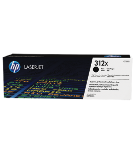 Cartridge HP Laser No 312X Black (4.4k) (CF380X)
