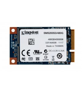 Kingston SSDNow mS200,480GB, mSATA SSD, SATA 6Gb/s (SMS200S3/480G)