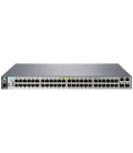 HP 2530-48-PoE+ Managed L2 Switch, 48-ports 10/100 PoE+, 2-ports 10/100/1000, 2-ports SFP (J9778A)