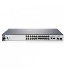 HP 2530-24-PoE+ Managed L2 Switch,  24-ports 10/100  PoE+, 2-ports 10/100/1000, 2-ports SFP (J9779A)