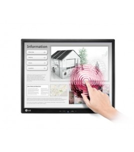 LG 17MB15T 17 TN/TFT Monitor with Touch Sceen, 1280 x 1024, 5ms, USB, VGA (17MB15T-B)