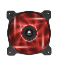 Corsair Air Series AF120 LED Red Quiet Edition High Airflow 120mm Fan (CO-9050015-RLED)