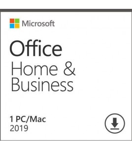 Microsoft Office Home and Business 2019 ESD Download, Multilingual, 1  Licence (T5D-03183)